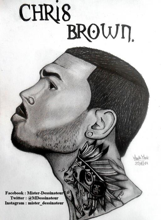 Chris Brown by MisterDessinateur45